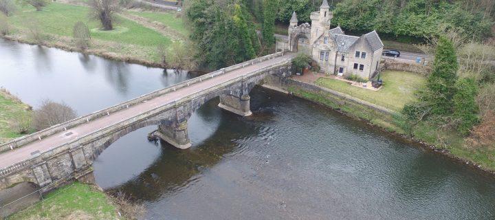 Mauldslie Bridge Repairs 2019/2020
